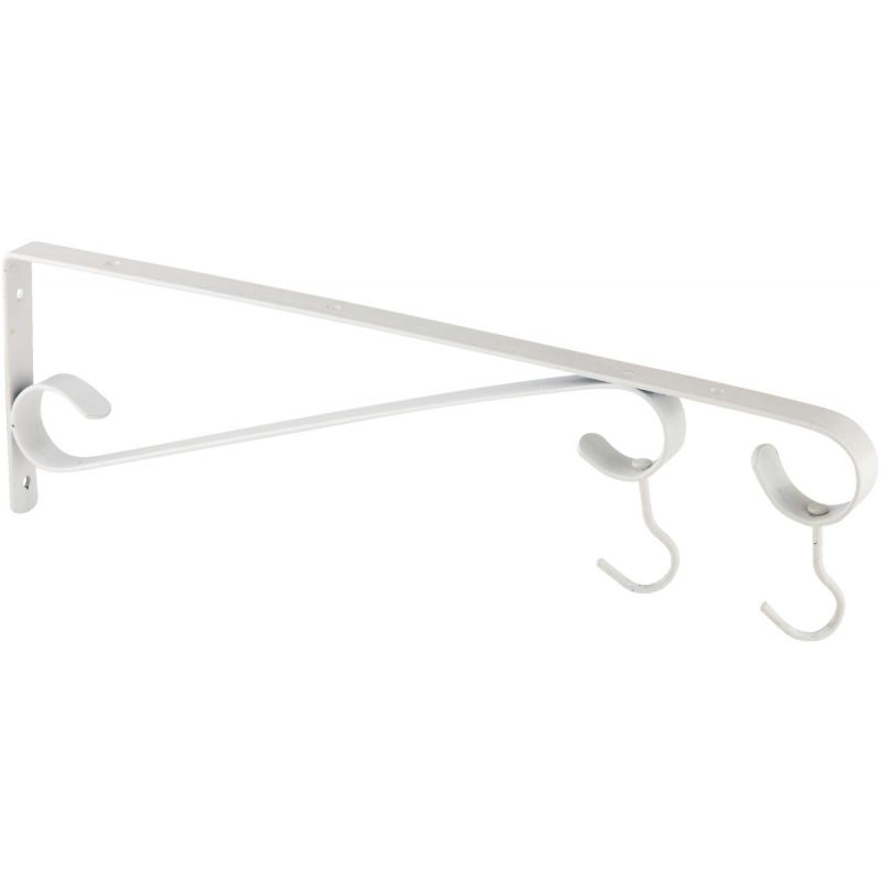 National Hanging Plant Bracket White