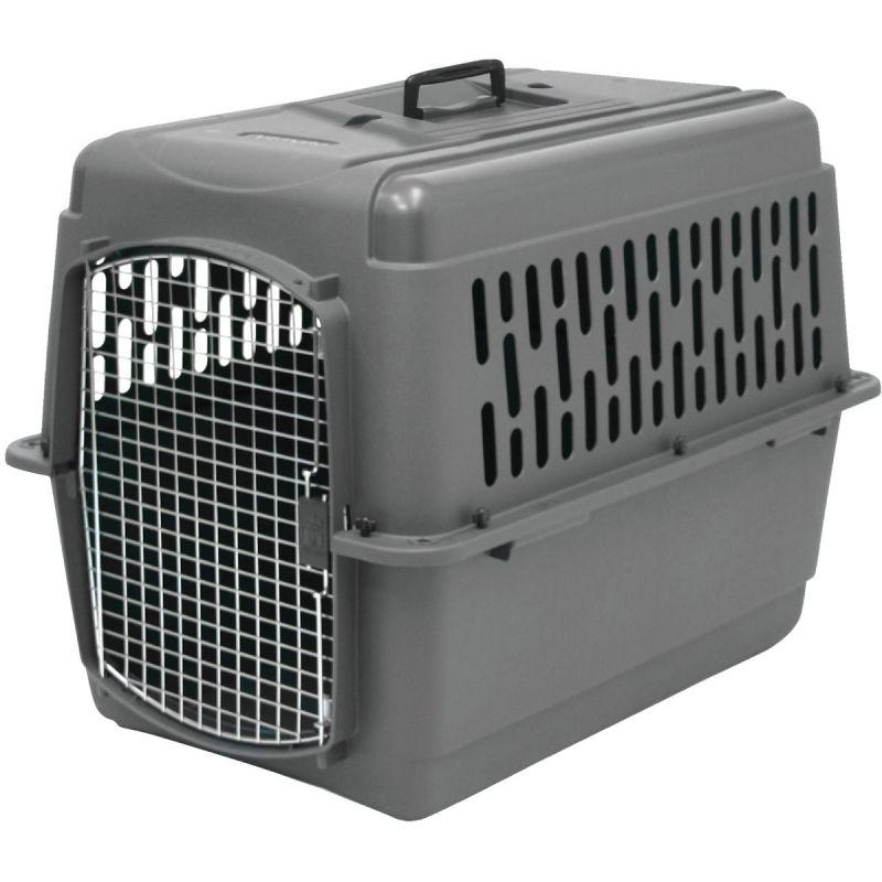 Petmate Aspen Pet Porter Pet Carrier Light Gray