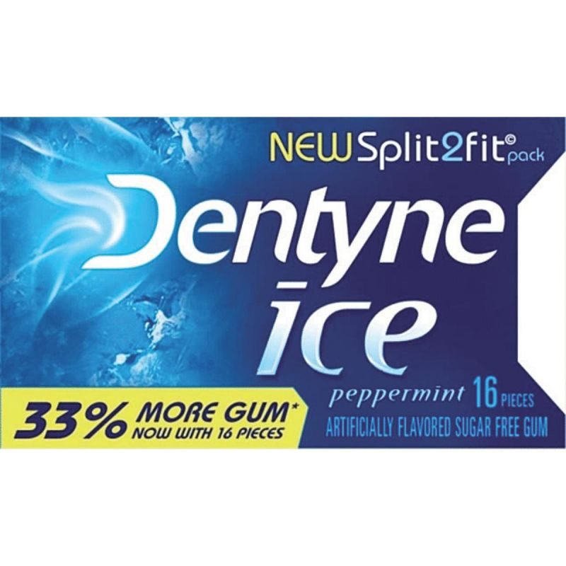 Dentyne Ice Chewing Gum 16 Pc. (Pack of 9)