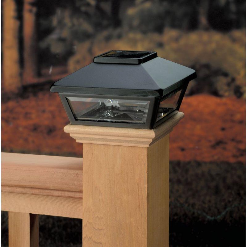 Deckorators Solar Post Cap Black