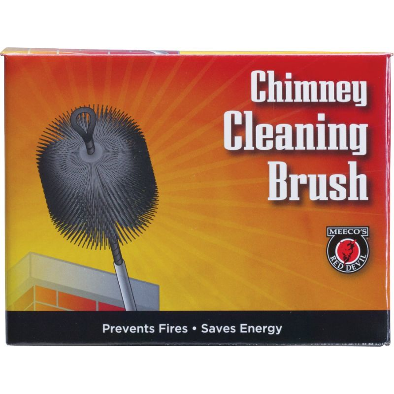 Meeco's Red Devil Wire Chimney Brush 6 In.