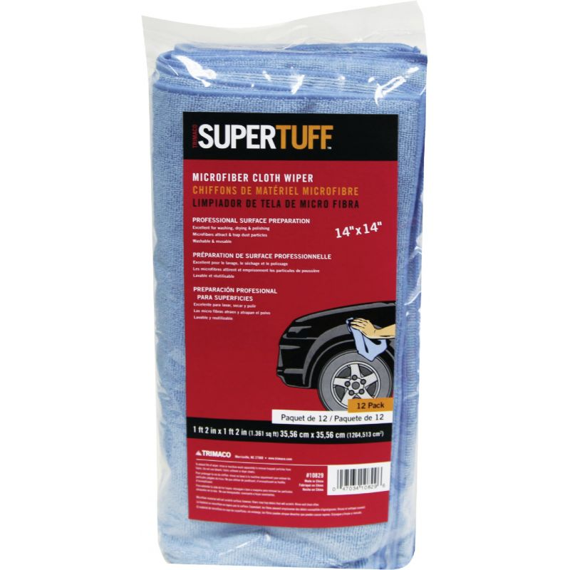 Trimaco SuperTuff Cleaning Cloth Blue