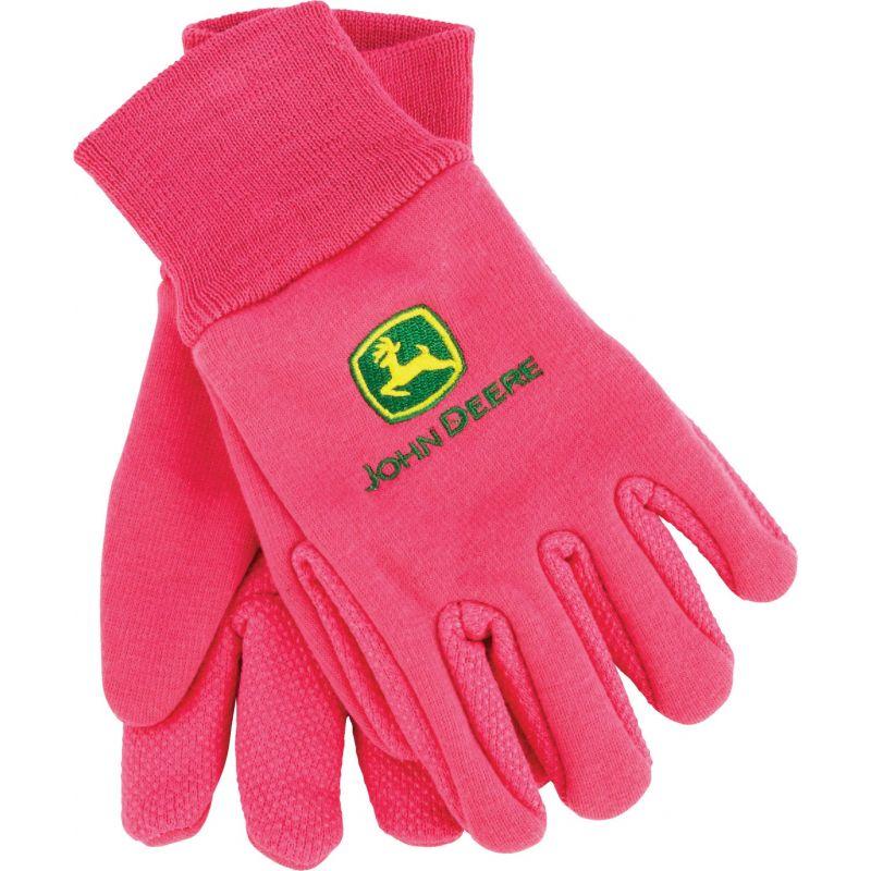 John Deere Kid's Glove Youth, Pink