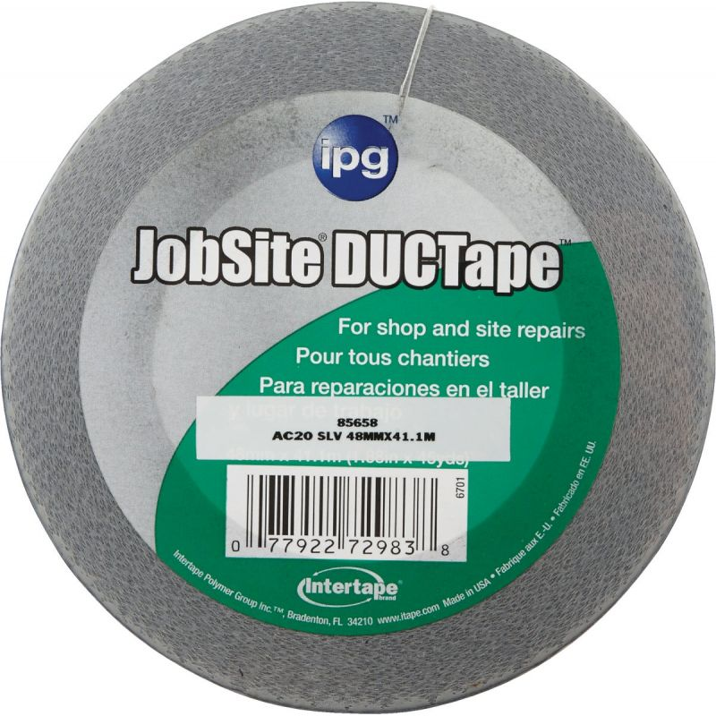 Intertape AC20 DUCTape General Purpose Duct Tape Silver
