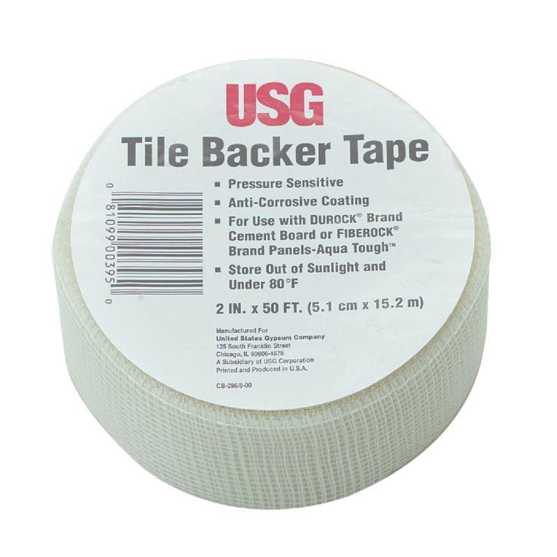 Durock Tile Backer Interior Drywall Tape White