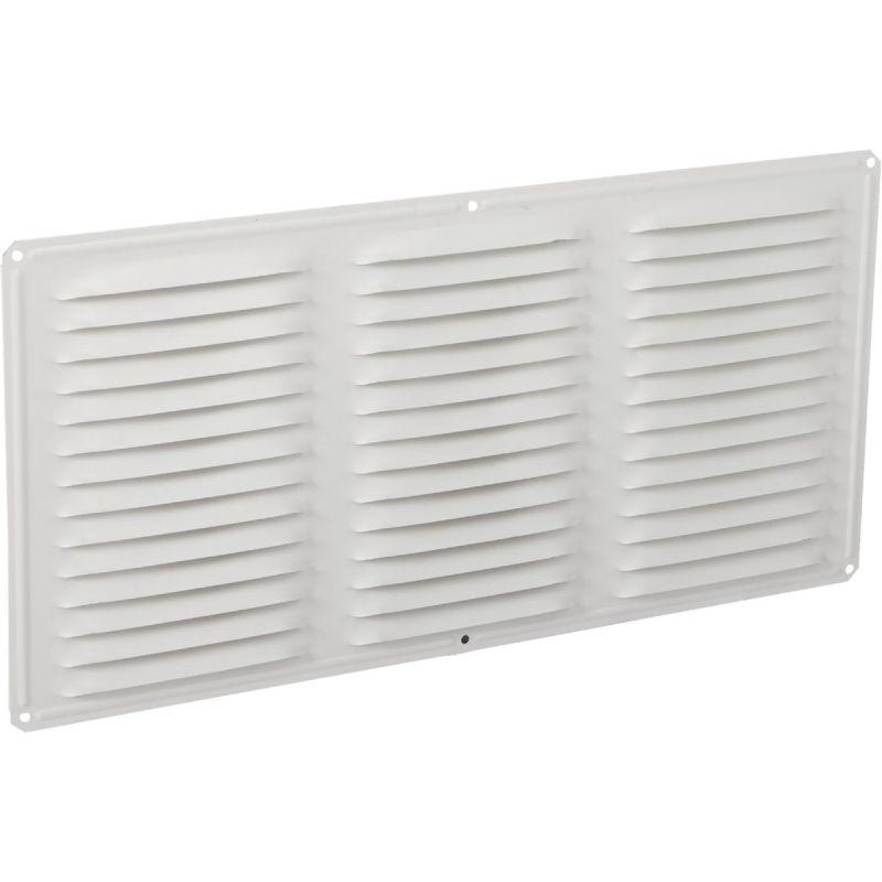 "Air Vent Aluminum Under Eave Vent 16"" X 8"", White (Pack of 24)"