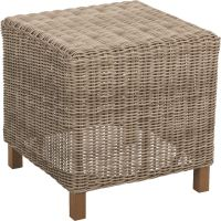 Cambria Wicker End Table