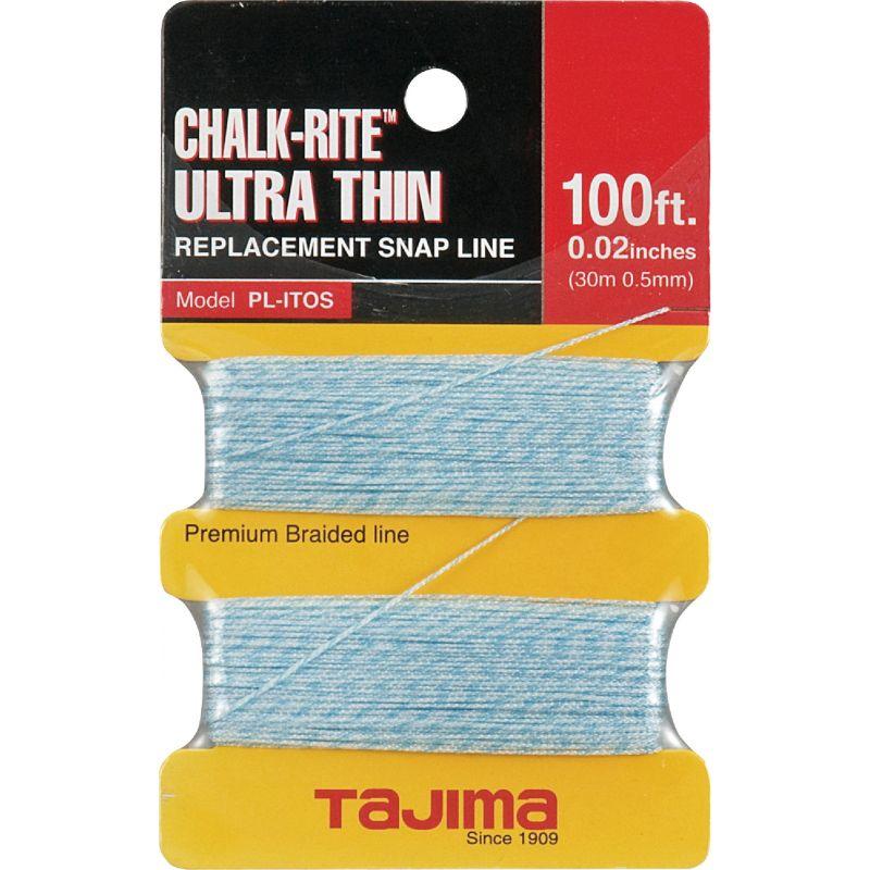 Tajima Chalk-Rite Chalk Line 1/32 In., White