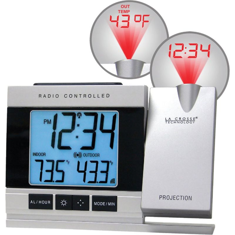 La Crosse Technology Atomic Projection Electric Alarm Clock