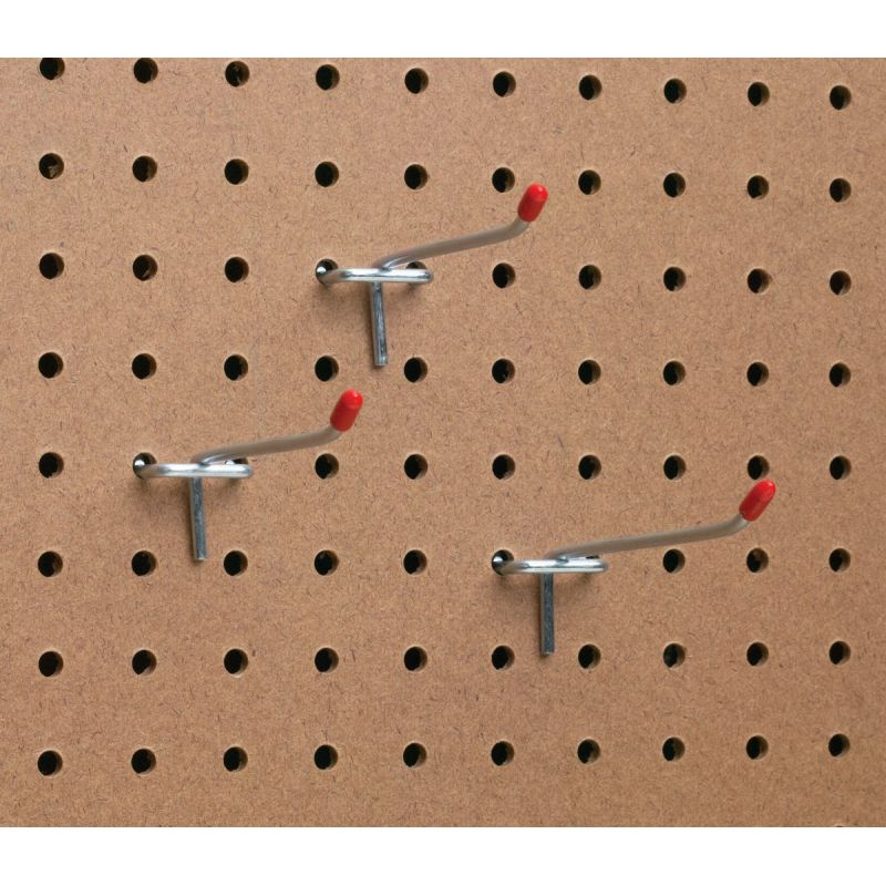 Light Duty Safety Tip Straight Pegboard Hook