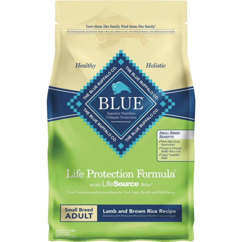 Blue Buffalo Life Protection Formula Small Breed Adult Dry Dog Food 6 Lb.
