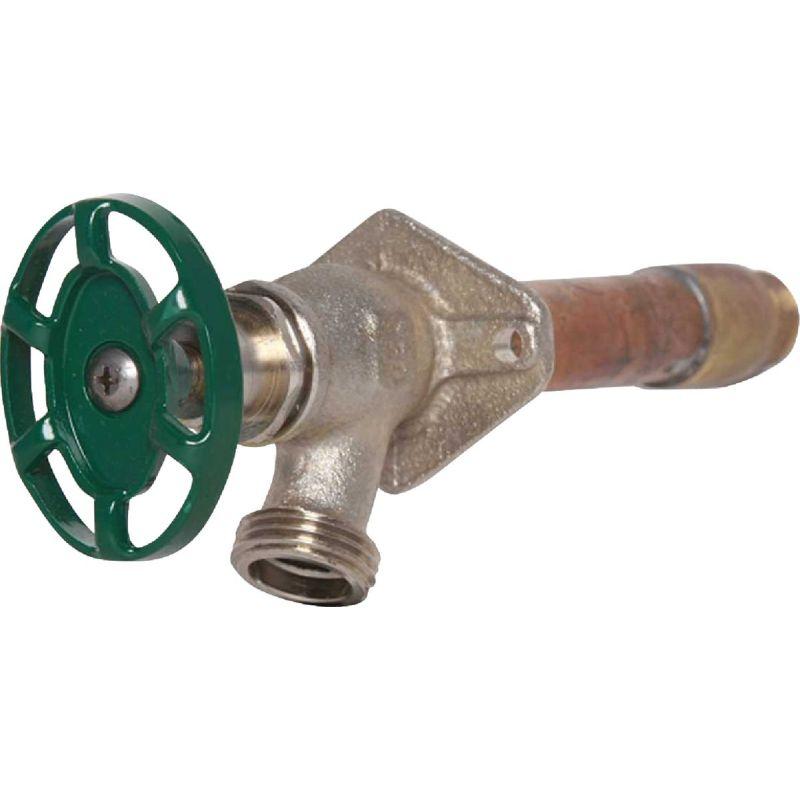 Arrowhead Brass 1/2 In. FIP X 3/4 In. MIP Standard Frost Free Wall Hydrant 1/2 In. FIP X 3/4 In. MIP