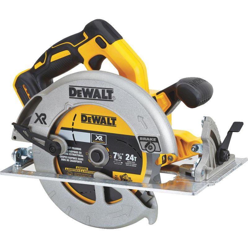DeWalt 20V MAX XR Lithium-Ion Brushless Cordless Circular Saw - Bare Tool