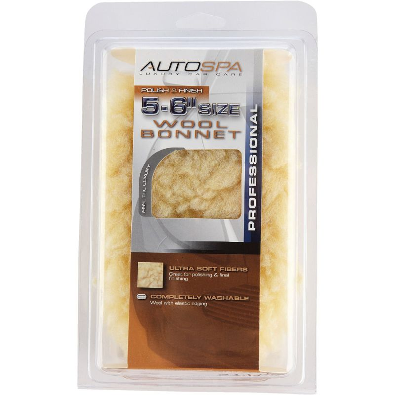 """Auto Spa Wool Buffing and Polishing Bonnet 5"""" To 6"""""""