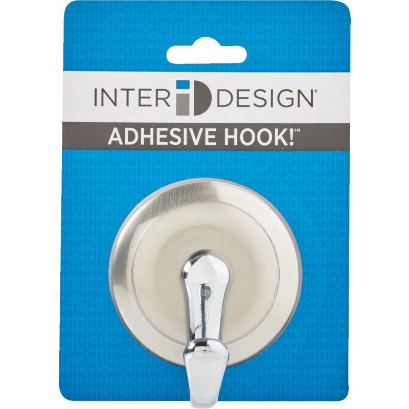 York Adhesive Hook Silver