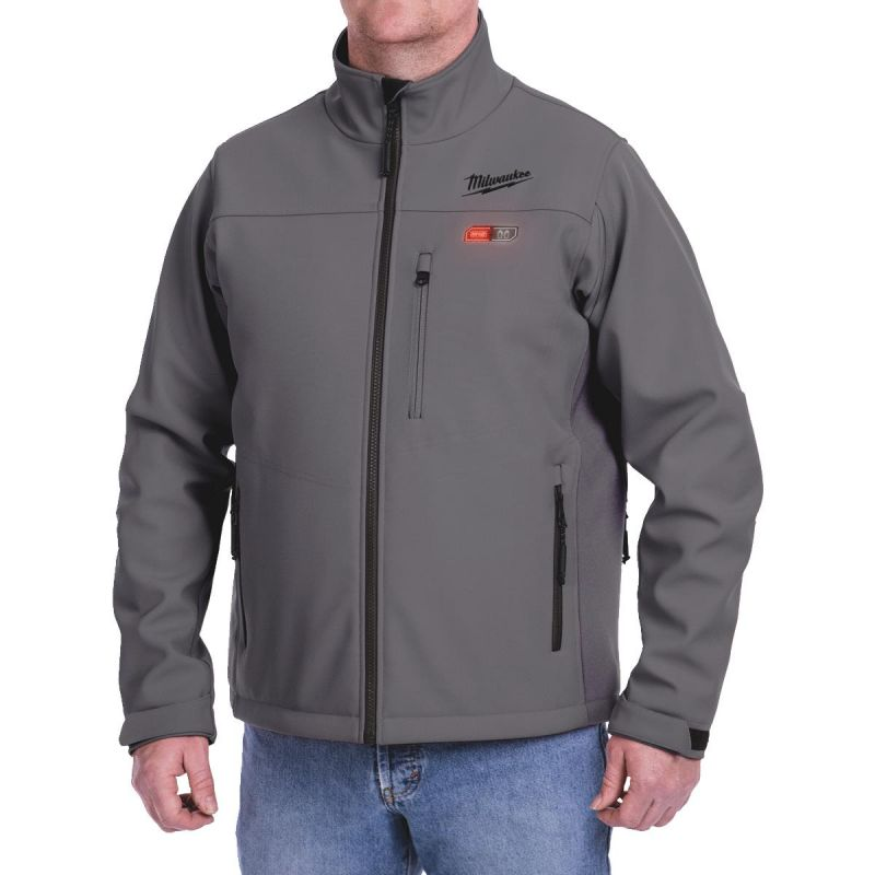 Milwaukee M12 Heated ToughShell Jacket L, Gray