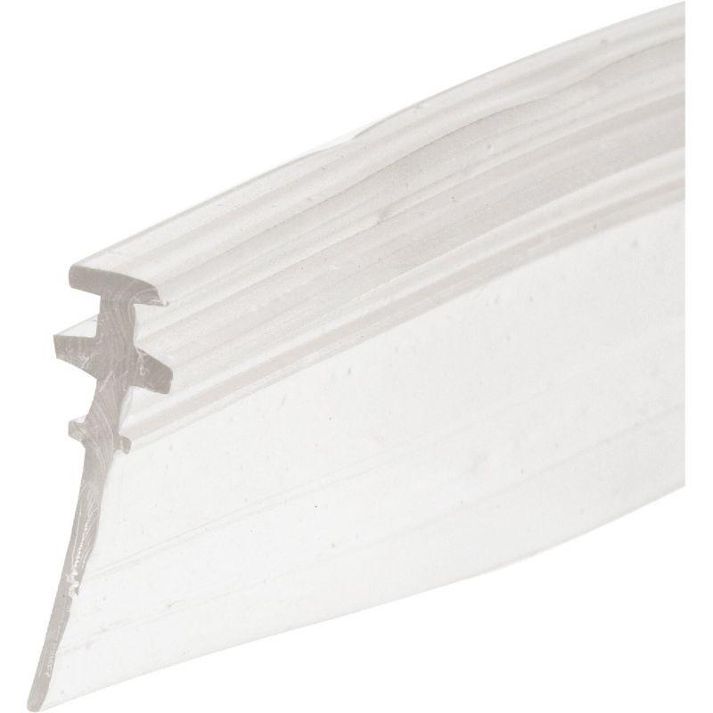 Prime-Line Double Tee Shower Door Sweep 3/4 In. W. X 36 In. L., Clear