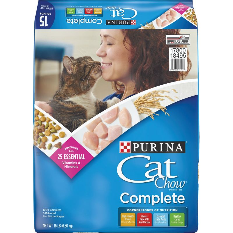 Purina Cat Chow Dry Cat Food 15 Lb.