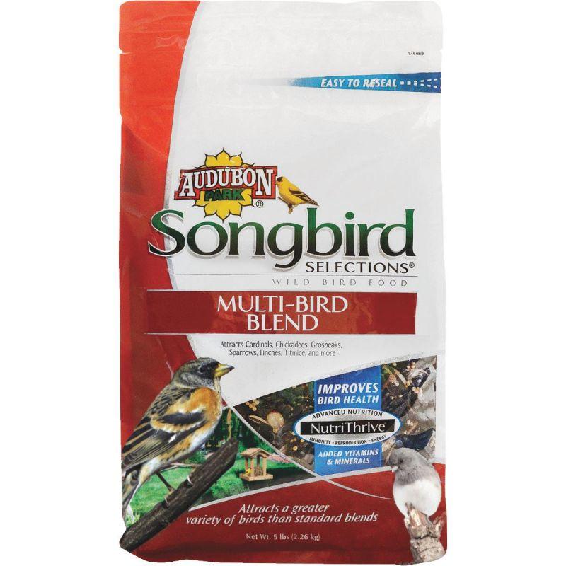 Audubon Park Songbird Selections Multi-Bird Wild Bird Seed 5 Lb.