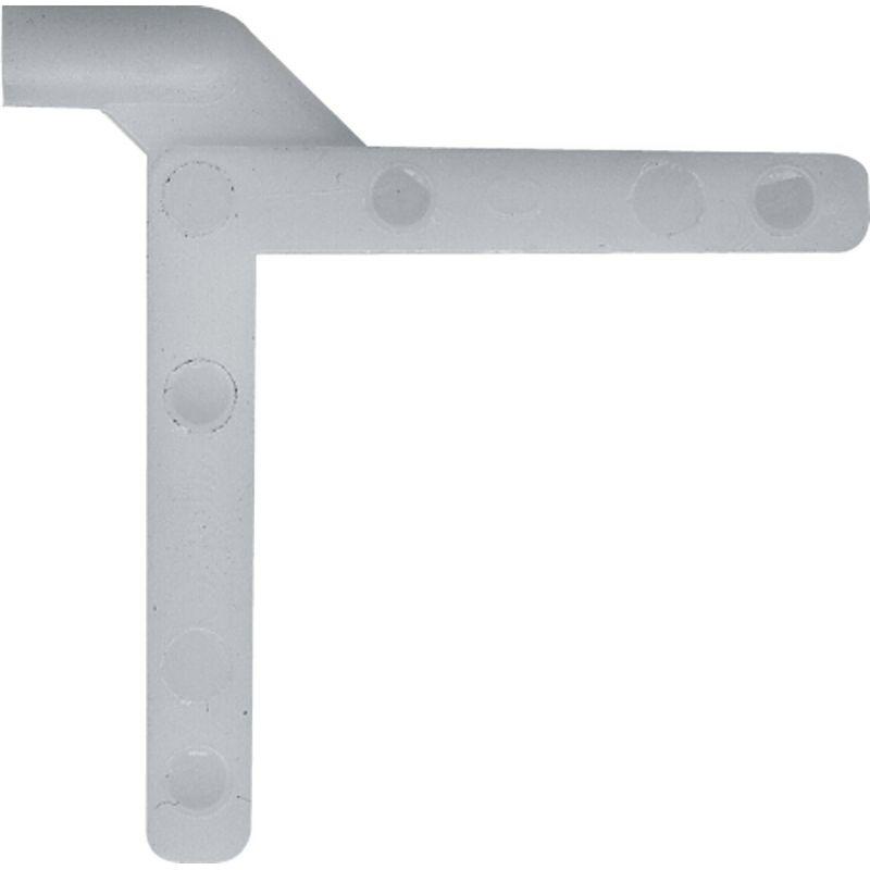 """Prime-Line 3/16 In. x 3/16 In. Right Hand Nylon Tilt Corner Key 3/16"""" X 3/16"""""""