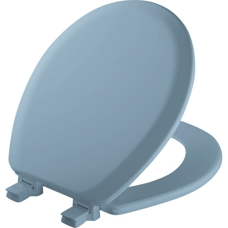 Mayfair Advantage Round Toilet Seat Blue, Round