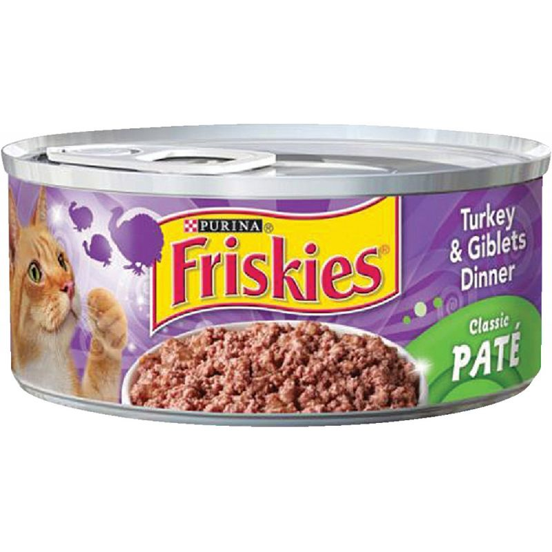 Purina Friskies Classic Pate Wet Cat Food 5.5 Oz.