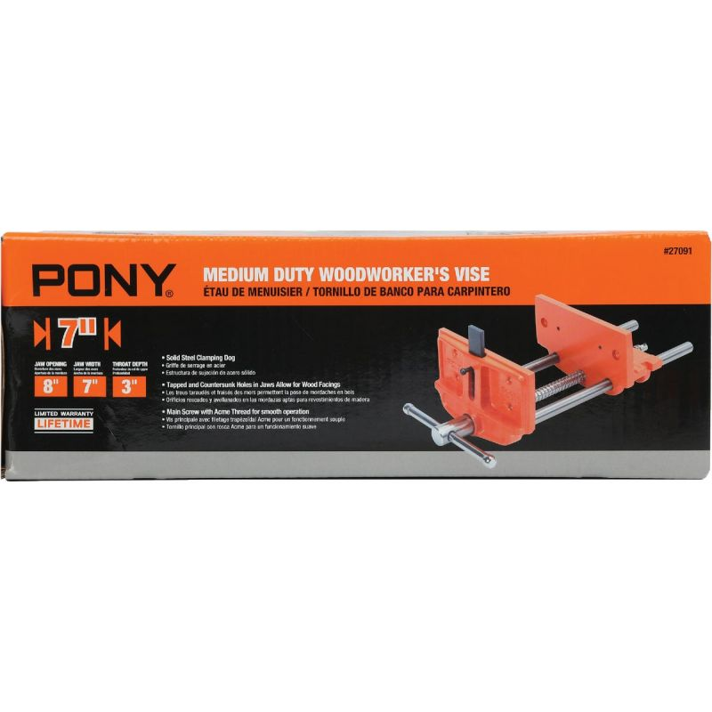 Pony Woodworker's Vise 7 In.