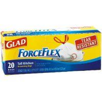 Glad ForceFlex Drawstring Trash Bag