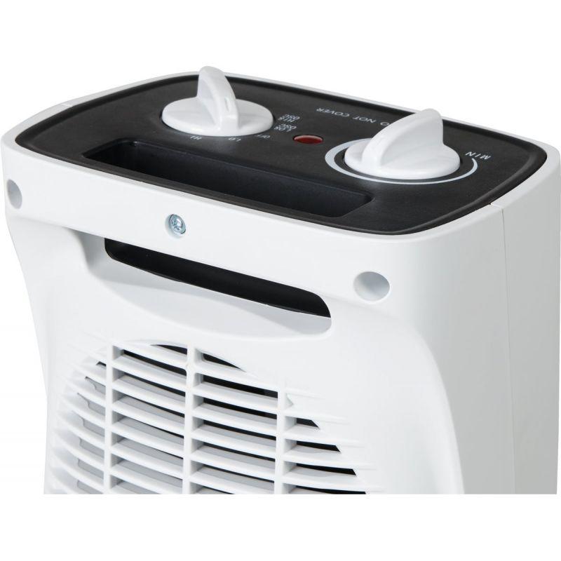 Best Comfort Oscillating Ceramic Space Heater White, 12.5A