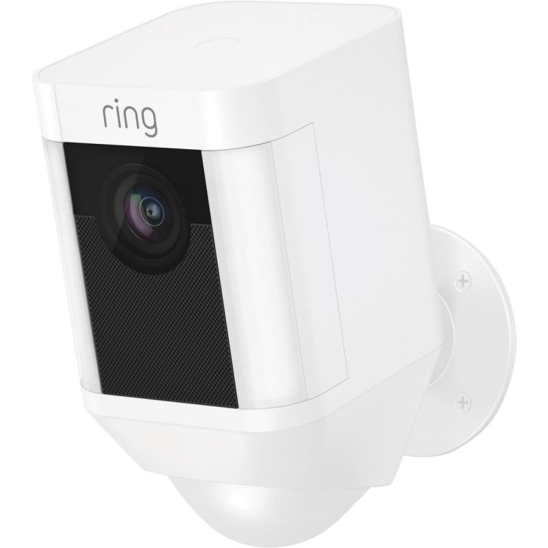 Ring Wireless Spotlight Cam Security Camera White