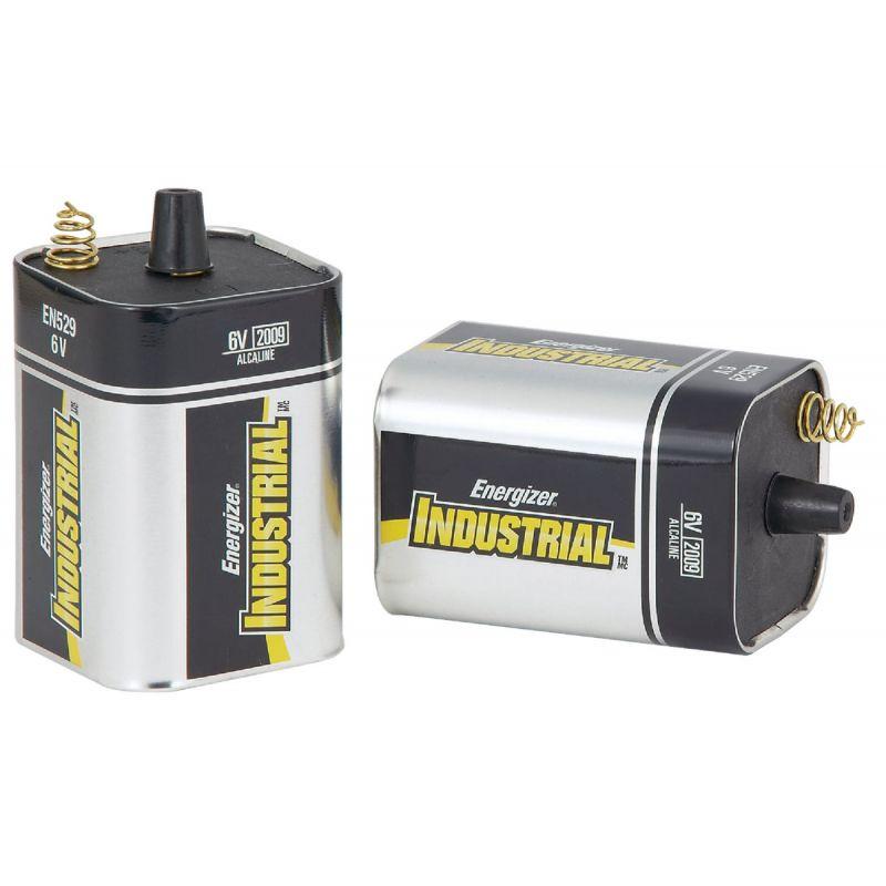 Energizer Industrial 6V Spring Terminal Alkaline Lantern Battery (Pack of 6)