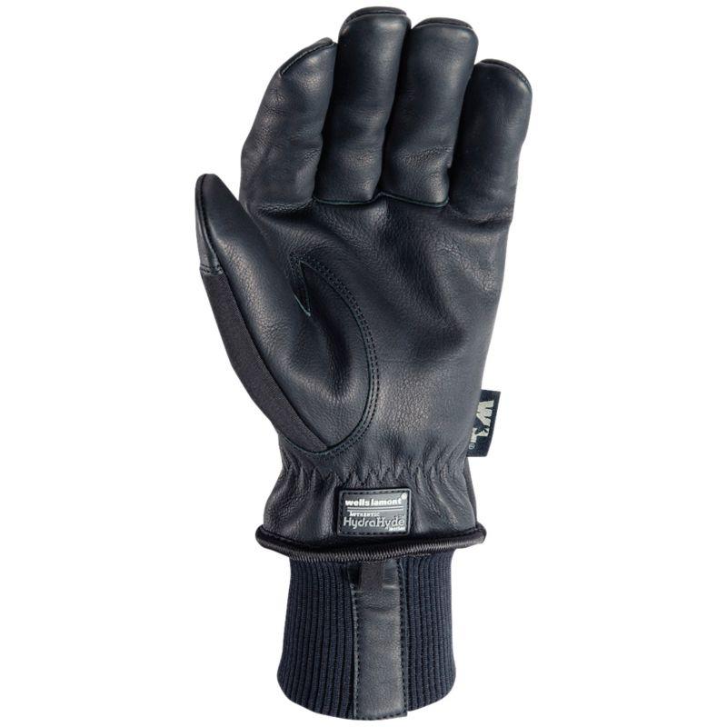 Wells Lamont HydraHyde Goatskin Men's Winter Work Gloves XL, Black