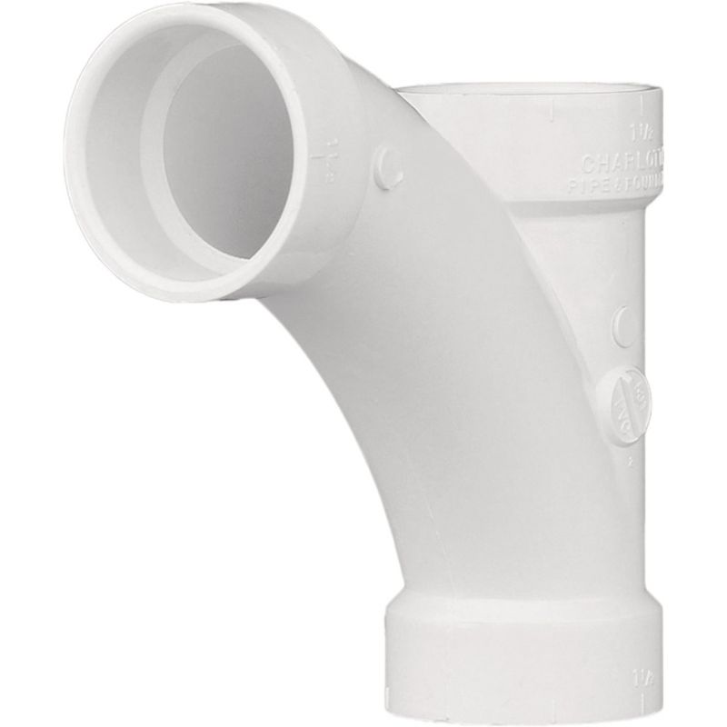 Charlotte Pipe Combination Tee-Wye 1-1/2""