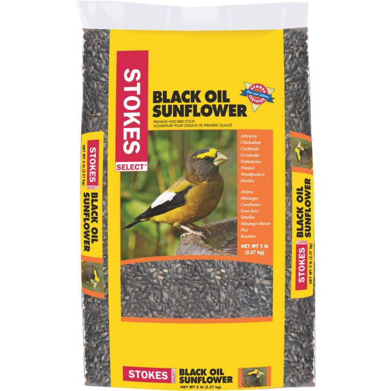 Stokes Select Black Oil Sunflower Seed 5 Lb.