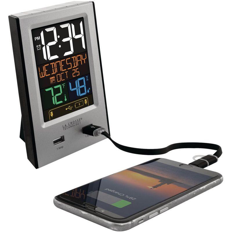 La Crosse Technology Multi-Color Digital Electric Alarm Clock