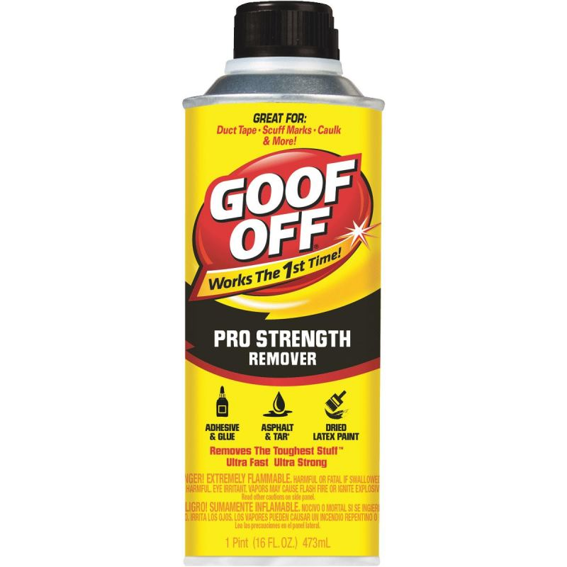 Goof Off Pro Strength Remover 16 Oz.