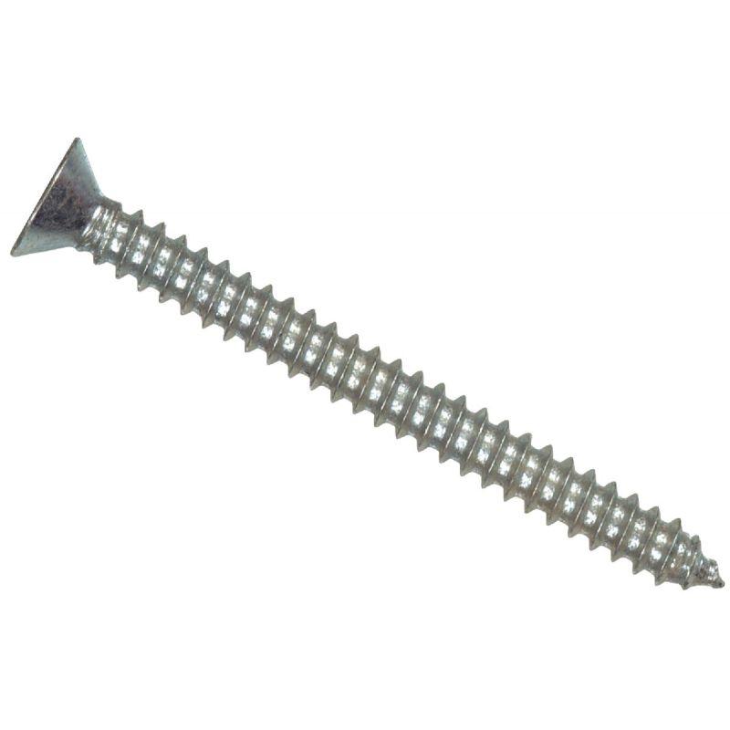 Hillman The Fastener Center Phillips Flat Head Stainless Steel Sheet Metal Screw #12 X 1 In.