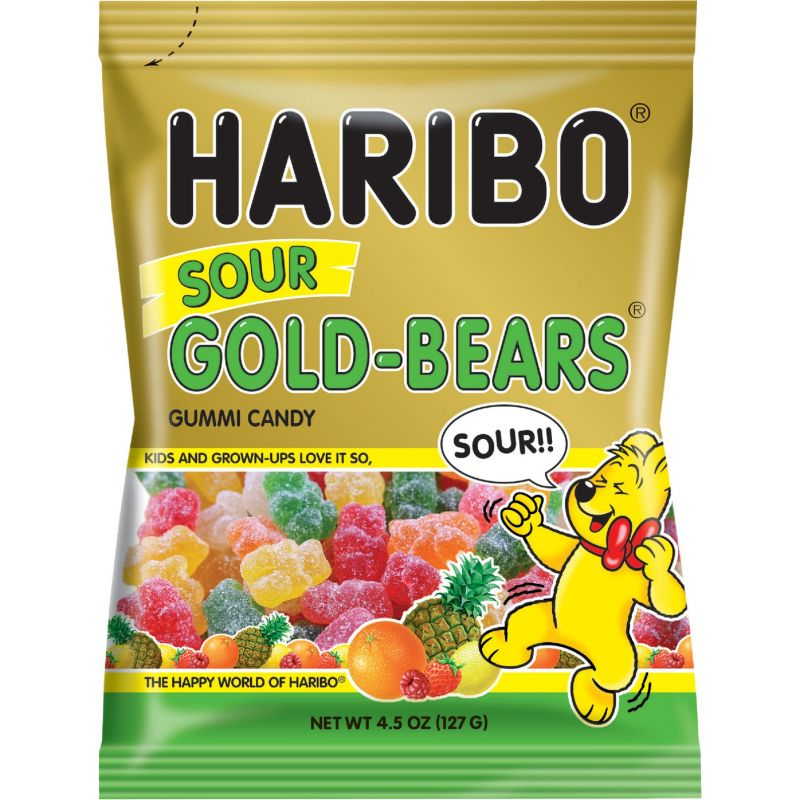 Haribo Gold-Bears Gummi Candy 4.5 Oz. (Pack of 12)