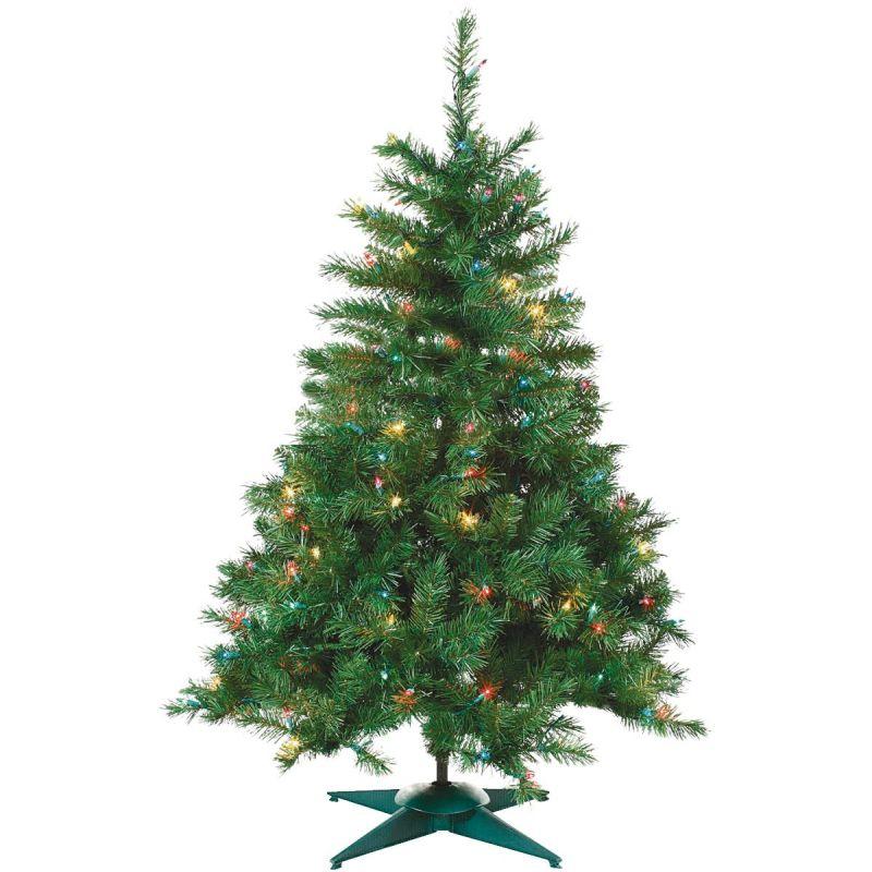 Sterling Colorado Spruce Prelit Artificial Tree