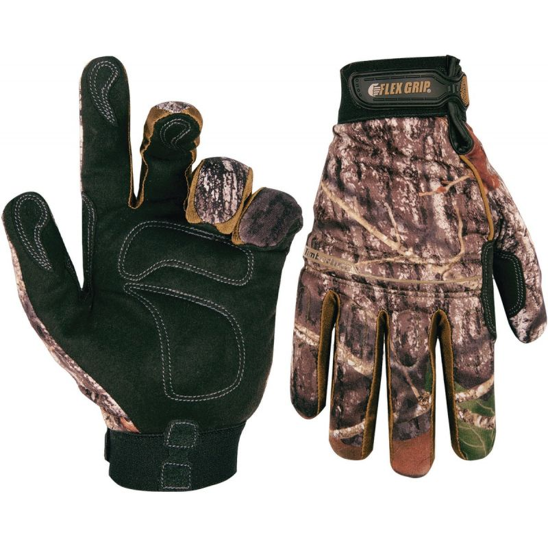 CLC Timberline High Dexterity Winter Glove XL, Camouflage