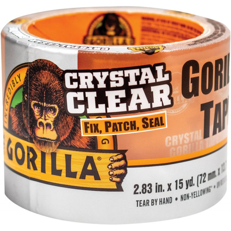Gorilla Crystal Clear Duct Tape Crystal Clear