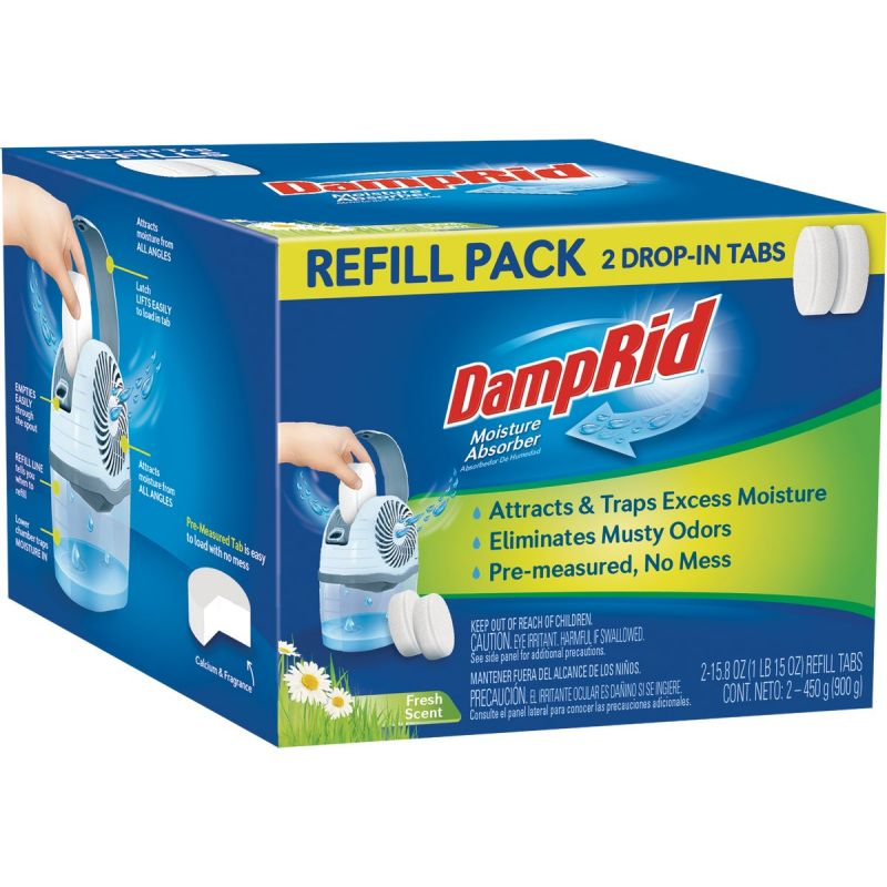 DampRid Spill Resistant Moisture Absorber Refill 15.8 Oz.