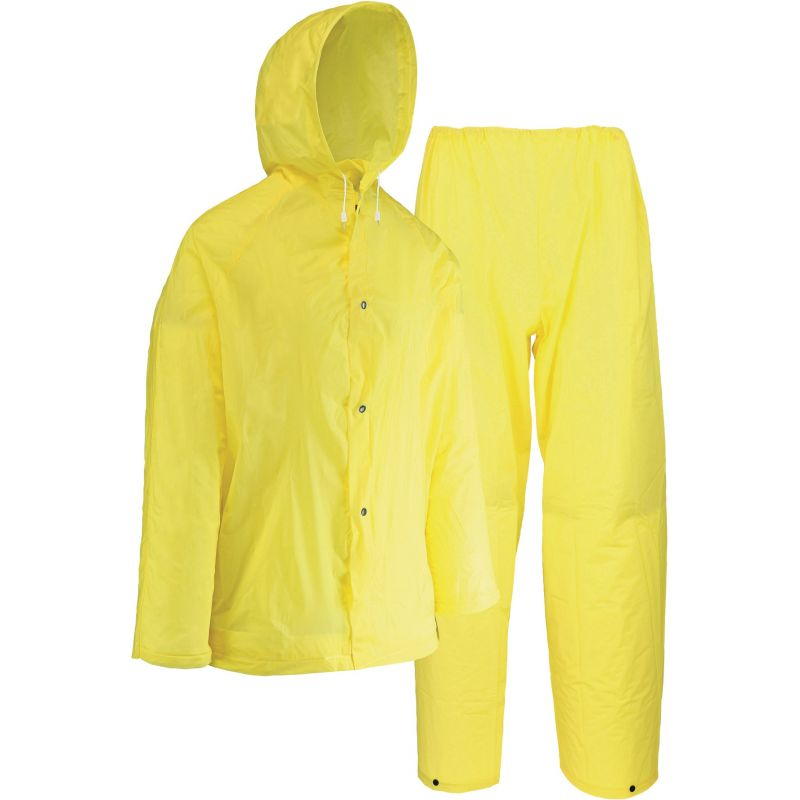 West Chester 2-Piece EVA Rain Suit 2XL, Yellow