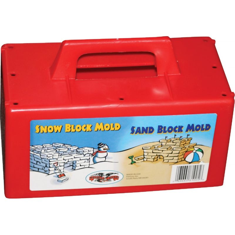 Flexible Flyer Sand & Snow Block Maker Red (Pack of 12)