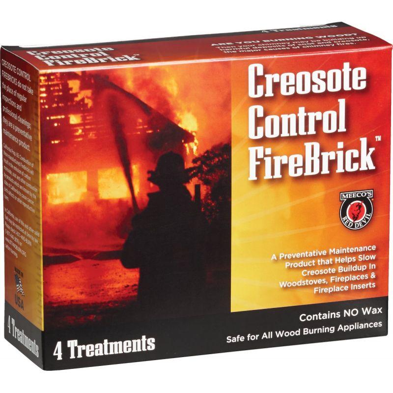 Meeco's Red Devil Creosote Control Firebrick Creosote Remover 2-1/2 Lb.
