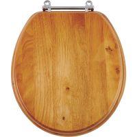 Do it Best Oak Toilet Seat