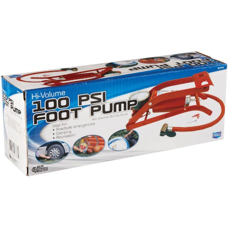 Custom Accessories Compact Foot Pump