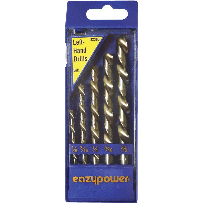 Eazypower 5-Piece Left Hand Drill Bit Set