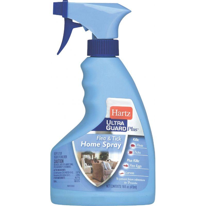 Hartz UltraGuard Plus Flea & Tick Control Home Spray 16 Oz., Trigger Spray