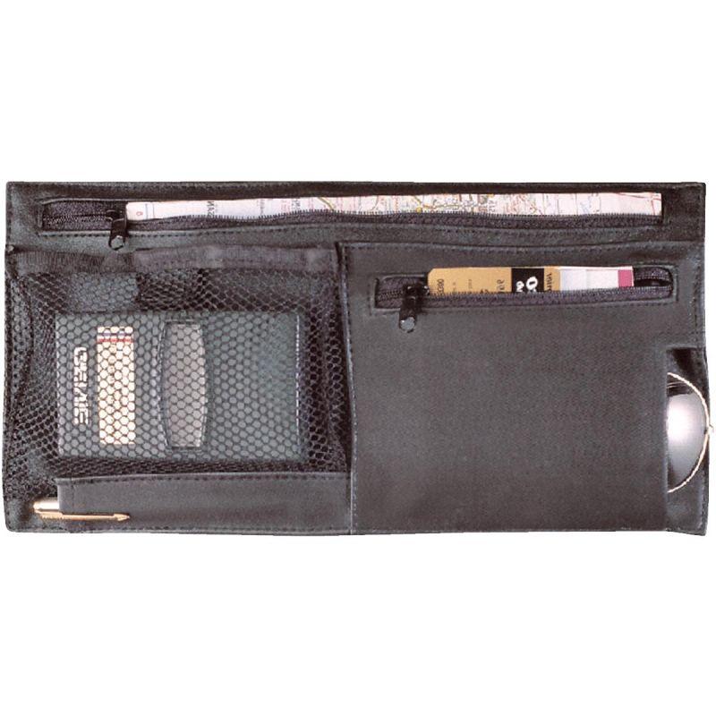 Custom Accessories Deluxe Visor Organizer Black
